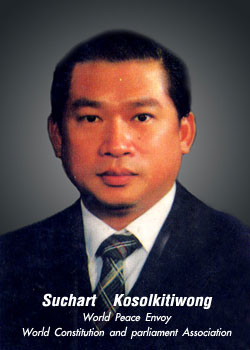 Suchart  Kosolkitiwong World Peace Envoy